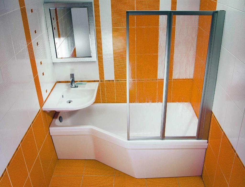 Как сделать маленькую ванную комнату